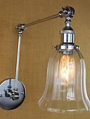 baratos Couro-Regional / Retro Swing Arm Lights Metal Luz de parede 110-120V / 220-240V 40W