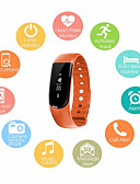 cheap Smart Activity Trackers & Wristbands-Men's Sport Watch / Fashion Watch / Dress Watch Chinese Heart Rate Monitor / Water Resistant / Water Proof / Creative Silicone Band Charm Multi-Colored / Pedometers / Smartwatch