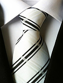 cheap Men's Ties & Bow Ties-Men's Neckwear Stripes Necktie - Striped