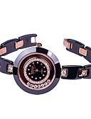 preiswerte Modische Uhren-Damen Armbanduhr Modisch Keramik Band Freizeit / Modisch Schwarz / Weiß