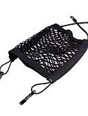 billige Dametopper-ziqiao universell elastisk mesh net bagasjerom / mellom bil arrangør sete tilbake lagring mesh netpose bagasjeholder lomme