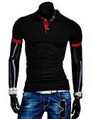 billige Herre poloshirts-Herre - Ensfarvet T-shirt Bomuld