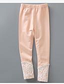 preiswerte Hosen & Leggings für Mädchen-Mädchen Hose Solide Baumwolle Winter Frühling Spitze Orange Grau Gelb