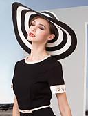 preiswerte Parykopfbedeckungen-Korbwaren Hüte mit 1 Hochzeit / Besondere Anlässe / Büro / Geschäftlich Kopfschmuck