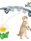 olcso Esküvői ajándékok-Macskajátékok Pillangó Műanyag Kompatibilitás Cica / Kiscica