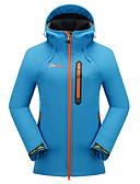 cheap Men's Shirts-Cikrilan Women's Hiking Softshell Jacket Outdoor Winter Waterproof Thermal / Warm Windproof Rain-Proof Breathable Thick Fleece Jacket Top