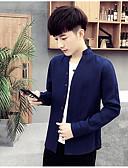 preiswerte Herrenhemden-Herrn Solide - Chinoiserie Baumwolle Leinen Hemd