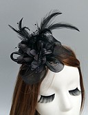 cheap Fashion Headpieces-Net Fascinators / Hats / Headwear with Floral 1pc Wedding / Special Occasion Headpiece