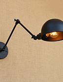 baratos Camisetas & Regatas Masculinas-Simples / Regional / Retro Swing Arm Lights Metal Luz de parede 110-120V / 220-240V 40W