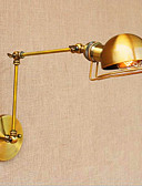 olcso Esküvői ajándékok-Vintage Ország Swing kar fények Kompatibilitás Fém falikar 110-120 V 220-240 V 40W