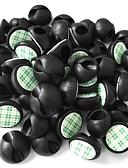billige Eksotisk herreundertøy-Ziqiao 50 stk. multifunksjonell bilstereo låseklemme hodetelefon / usb kabelbilclips interiørtilbehør (2,8 * 1,5 cm)