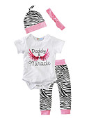 cheap Baby Girls' Clothing Sets-Baby Children's Cotton Casual Indoor Outdoor Daily Wear Animal Print Clothing Set, Cotton Winter Spring/Fall Animal Print Short Sleeve