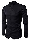 cheap Men's Tees & Tank Tops-Men's Cotton Shirt - Check