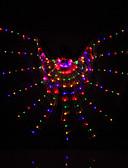 hesapli Göbek Dansı Giysileri-Göbek Dansı Bereketin Kanatları Kadın's Performans Polyester Hayvanlar İnsanlar Yılbaşı Şükran Günü Sanat, El Sanatları ve Dikiş Peri