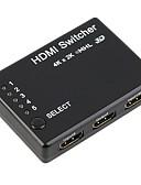 baratos Camisetas Femininas-HDMI 1.4 Divisor, HDMI 1.4 to HDMI 1.4 Divisor Fêmea-Fêmea 4K*2K 10 Gbps