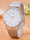 cheap Leather Band Watches-Men's Wrist Watch Chinese Stainless Steel Band Casual / Fashion / Minimalist Silver / Jinli 377