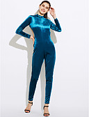 billige Jumpsuits og sparkebukser til damer-Dame Kjeledresser - Ensfarget, Åpen rygg