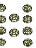 رخيصةأون ساعات رياضة-10pcs 3W 500lm GU10 LED ضوء سبوت 48 الخرز LED SMD 2835 ديكور أبيض دافئ أبيض كول 12V