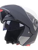 זול הינומות חתונה-פנים פתוחות מבוגרים יוניסקס אופנוע קסדה עמיד לחבטות / עמידות בפני כתמים / מסך כפול