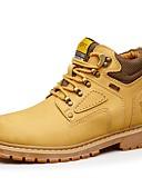 זול חזיות-בגדי ריקוד גברים נעליים עור סתיו / חורף מגפיי קרב נעלי אוקספורד צהוב / חום בהיר / חום כהה