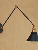 olcso Nadrágok-ipari nosztalgia személyiség loft fekete esernyő rész dupla lámpa 110-120v / 220-240v led 4w