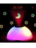 ieftine Tricou-multi-culori schimbarea vedetă cer lumina de noapte a condus magie proiecție digitală stea stea alarmă ceas acasă masă decorare