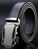 cheap Fashion Belts-Men's Work Alloy Waist Belt - Solid Colored / Black