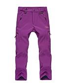 זול מכנסיים לנשים-בגדי ריקוד נשים מכנסיים לטיולי הליכה חיצוני שמור על חום הגוף, עמיד, לביש סתיו / חורף מכנסיים ציד / סקי / צעידה