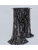 cheap Fashion Scarves-Women's Cotton Rectangle - Jacquard