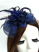 cheap Gloves-Net Fascinators / Hats / Headwear with Floral 1pc Wedding / Special Occasion Headpiece