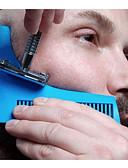 ieftine Accesorii de Baie-barba modelarea stil de styling barba pieptene pieptene toate-in-un instrument pieptene pentru parul barba trim template