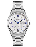 cheap Dress Watches-SKMEI Men's Wrist Watch Japanese Calendar / date / day / Water Resistant / Water Proof / Cool Stainless Steel Band Luxury / Fashion / Elegant Silver