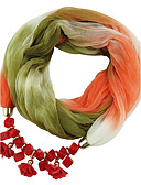 cheap Fashion Scarves-Women's Classic & Timeless Infinity Scarf - Color Block, Modern Style