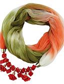 hesapli Kadın Üstleri-Kadın's Klasik & Zamansız Infinity Kaşkol - Modern Stil, Zıt Renkli