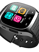 baratos Smartwatches-bluetooth smart watch novo m26 impermeável smartwatch pedômetro anti-perdido musica ios telefone android pk a1 dz09