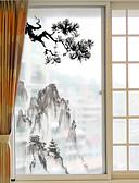 olcso Kvarc-Ablakfólia és matricák Dekoráció Kínai Art Deco PVC / Βινύλιο Ablak matrica / Nappali