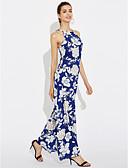 preiswerte Damen Kleider-Damen Ausgehen Retro Hülle Kleid Blumen Maxi
