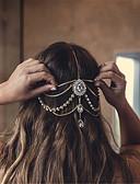 baratos Headpieces Femininos-Mulheres Importante / Elegante Strass / Liga Corrente para Cabelos / Casamento