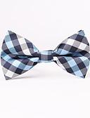 cheap Men's Ties & Bow Ties-Men's Grid Bow Tie - Houndstooth