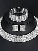 tanie Sukienki-Damskie Biżuteria Ustaw - Podstawowy, Elegancja Zawierać Srebrny Na Ślub Codzienny