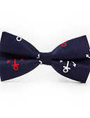cheap Gloves-Men's Polyester Bow Tie Print