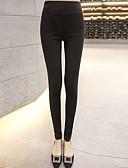 ieftine Pantaloni de Damă-Pentru femei Culori Mate Legging - Mată / Culoare solidă Înalt