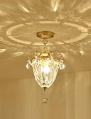 baratos Couro-3-luz Montagem do Fluxo Luz Ambiente - Cristal, 110-120V / 220-240V, Branco Quente, Lâmpada Não Incluída / 5-10㎡