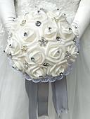 "cheap Wedding Veils-Wedding Flowers Bouquets Wedding Polyester / Foam 9.84""(Approx.25cm)"