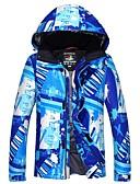 preiswerte Hemd-Herrn Skijacke Warm, Wasserdicht, warm halten Camping & Wandern / Skifahren / Skitourengehen Polyester Winterjacken Skikleidung