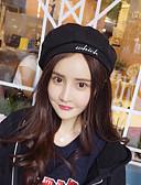 abordables Sombreros de mujer-Mujer Color puro Boina Francesa Un Color / Bonito