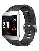 זול להקות Smartwatch-צפו בנד ל Fitbit ionic פיטביט רצועת ספורט סיליקוןריצה רצועת יד לספורט