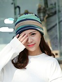 cheap Fashion Scarves-Women's Cotton Floppy Hat - Striped Braided