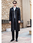رخيصةأون تيشيرتات وتانك توب رجالي-للرجال معطف بسيط سادة
