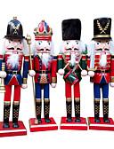 preiswerte Maxi-Kleider-1pc Feiertage & Glückwünsche Nussknacker Weihnachten Party, Urlaubsdekoration Feiertags-Verzierungen